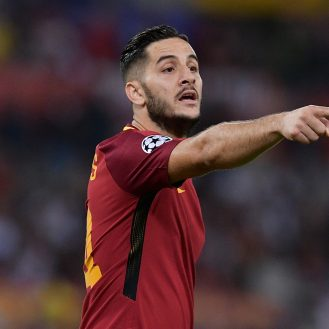 Foto Alfredo Falcone - LaPresse 12/09/2017 Roma ( Italia) Sport Calcio Roma - Atletico Madrid Gruppo C Uefa Champions League 2017 2018 - Stadio Olimpico di Roma Nella foto:manolas  Photo Alfredo Falcone - LaPresse 12/09/2017 Roma (Italy) Sport Soccer Roma - Atletico Madrid  Group C Uefa Champions League  2017 2018 - Olimpico Stadium of Roma In the pic:manolas